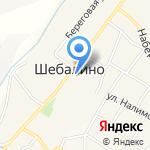 Шебалинский районный Совет депутатов на карте Шебалино