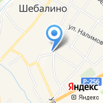 Ирина на карте Шебалино