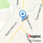 Отделение почтовой связи на карте Шебалино