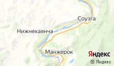 Отели города Черемшанка на карте