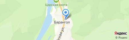 Триан на карте Барангла