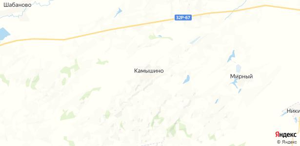 Камышино на карте