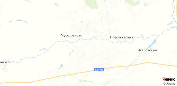 Соколовка на карте