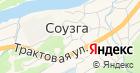 Соузгинский фельдшерско-акушерский пункт на карте