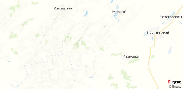 Возвышенка на карте