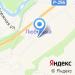 Автокар на карте Маймы