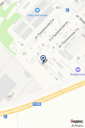ТОРГОВАЯ КОМПАНИЯ АЛМОНТ на карте Горно-Алтайска