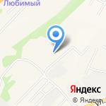 Лес Сибири на карте Маймы