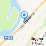Ас-Инструмент на карте Маймы