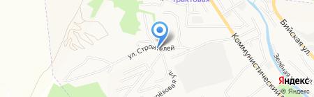 Бая на карте Горно-Алтайска