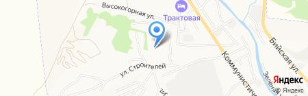 Региональное Управление Федеральной службы по контролю за оборотом наркотиков РФ по Алтайскому краю на карте Горно-Алтайска