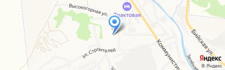 Легион на карте Горно-Алтайска