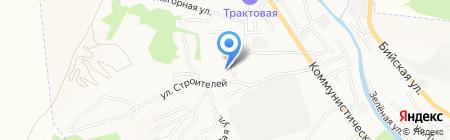 АлтайРегионЗнак на карте Горно-Алтайска