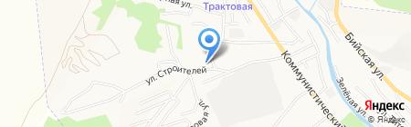 МРЭО ГИБДД МВД по Республике Алтай на карте Горно-Алтайска
