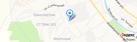 АЗС Экофонд на карте Горно-Алтайска