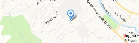 Отдел государственной фельдъегерской службы РФ в г. Горно-Алтайске на карте Горно-Алтайска