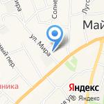 Майминский районный суд Республики Алтай на карте Маймы