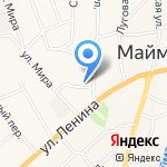 Altgesh на карте Маймы