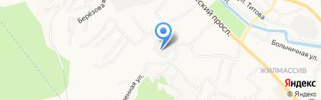 Алтай-Экострой ДДК на карте Горно-Алтайска
