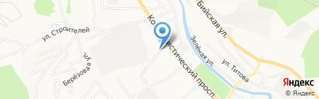 Алтай Мастер на карте Горно-Алтайска