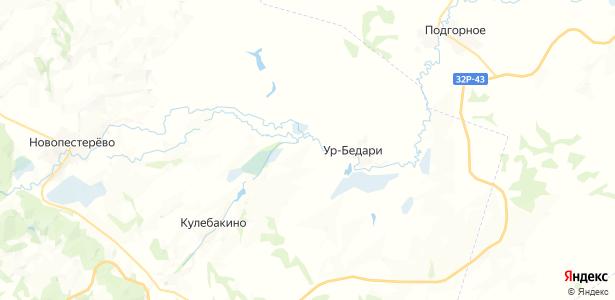 Усть-Канда на карте