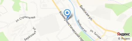 Банкомат Сбербанк России на карте Горно-Алтайска
