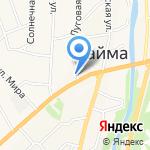 Киоск фастфудной продукции на карте Маймы