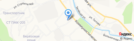 Детский сад №16 на карте Горно-Алтайска