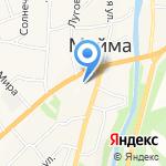 СибКапСтрой на карте Маймы