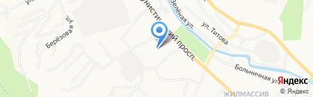 Вип Дент на карте Горно-Алтайска