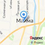 Мои документы на карте Маймы