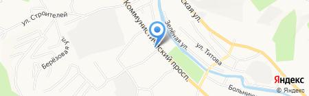 Жасмин на карте Горно-Алтайска