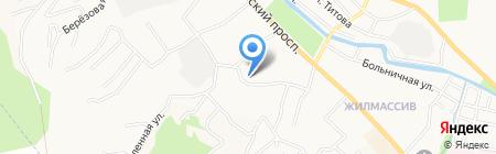Веста на карте Горно-Алтайска