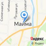 Духовой оркестр на карте Маймы