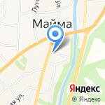 Магазин кормов для животных на карте Маймы