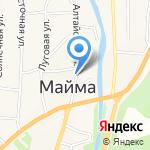 Магазин ритуальных принадлежностей на карте Маймы