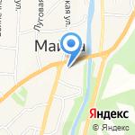 Магазин мороженого на карте Маймы