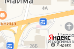 Схема проезда до компании Здравушка в Майме
