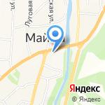 Пивмаркет на карте Маймы
