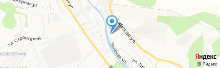 Деревообрабатывающее предприятие на карте Горно-Алтайска