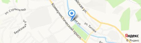 АвтоРеал на карте Горно-Алтайска