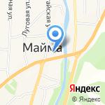 Магазин одежды на карте Маймы