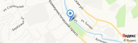 Люкс на карте Горно-Алтайска