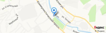 Дом на карте Горно-Алтайска