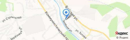 Бурводопроводстрой на карте Горно-Алтайска