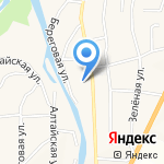 Мебельная компания на карте Маймы