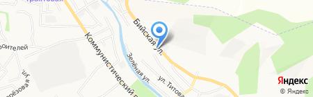Машдеталь на карте Горно-Алтайска