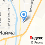 Дента-АВ на карте Маймы