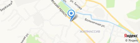 Саженцы на карте Горно-Алтайска