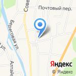 Отдел Военного комиссариата Республики Алтай по Майминскому и Чойскому районам на карте Маймы